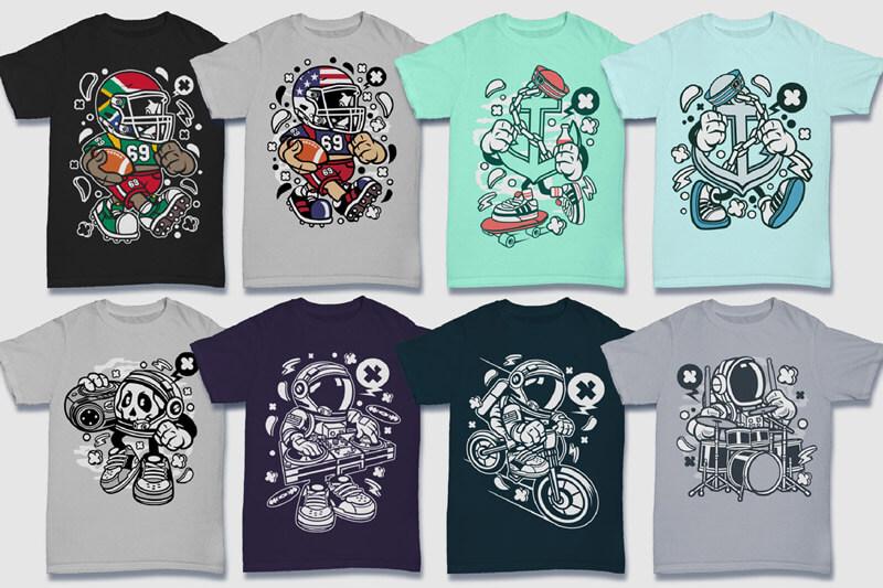 152-Tshirt-Designs-Cartoon-Bundle-Part-4-Preview-01
