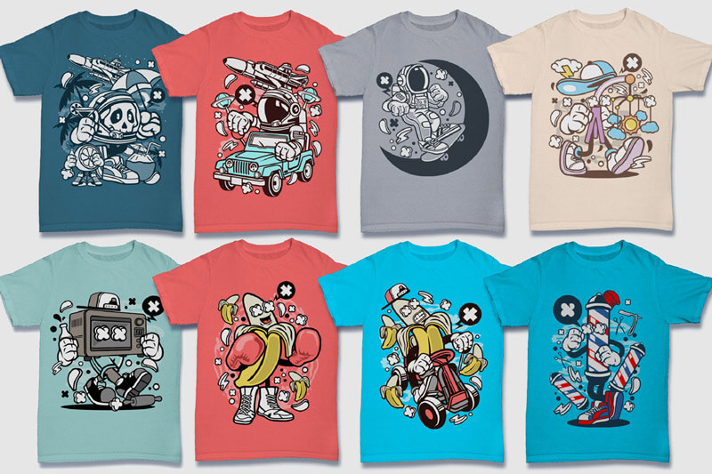 152-Tshirt-Designs-Cartoon-Bundle-Part-4-Preview-02
