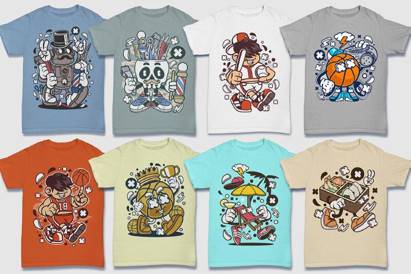 152-Tshirt-Designs-Cartoon-Bundle-Part-4-Preview-03