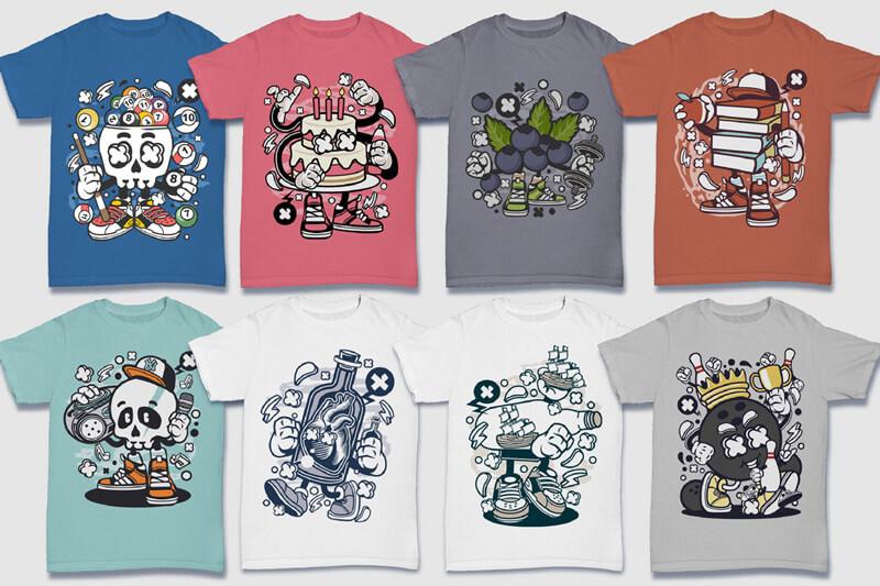 152-Tshirt-Designs-Cartoon-Bundle-Part-4-Preview-04