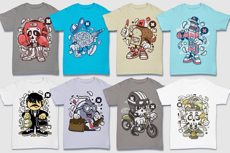 152-Tshirt-Designs-Cartoon-Bundle-Part-4-Preview-05