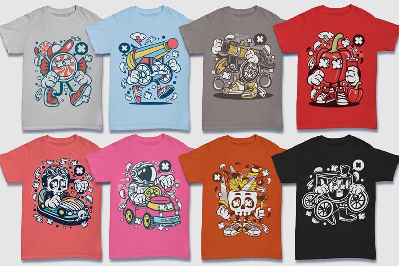 152-Tshirt-Designs-Cartoon-Bundle-Part-4-Preview-06