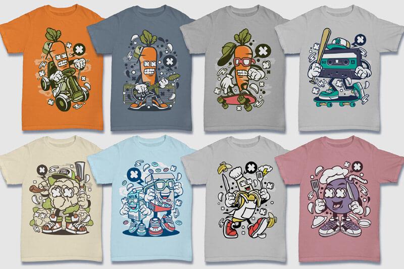152-Tshirt-Designs-Cartoon-Bundle-Part-4-Preview-07