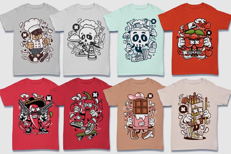 152-Tshirt-Designs-Cartoon-Bundle-Part-4-Preview-08