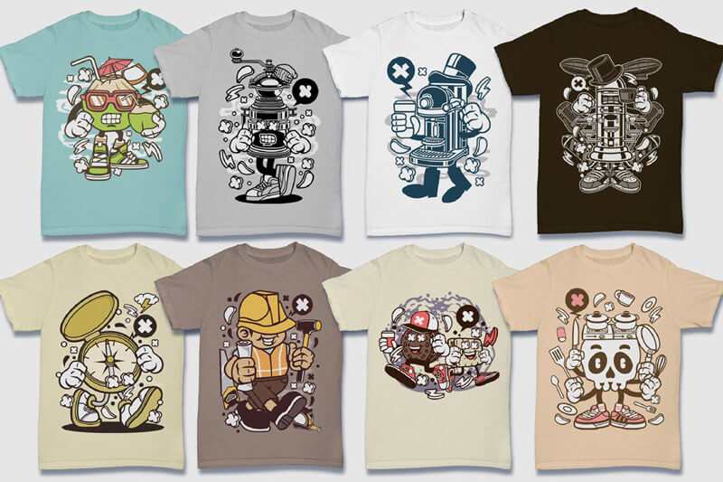 152-Tshirt-Designs-Cartoon-Bundle-Part-4-Preview-10