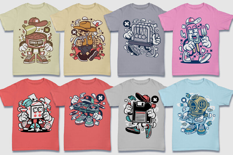 152-Tshirt-Designs-Cartoon-Bundle-Part-4-Preview-11