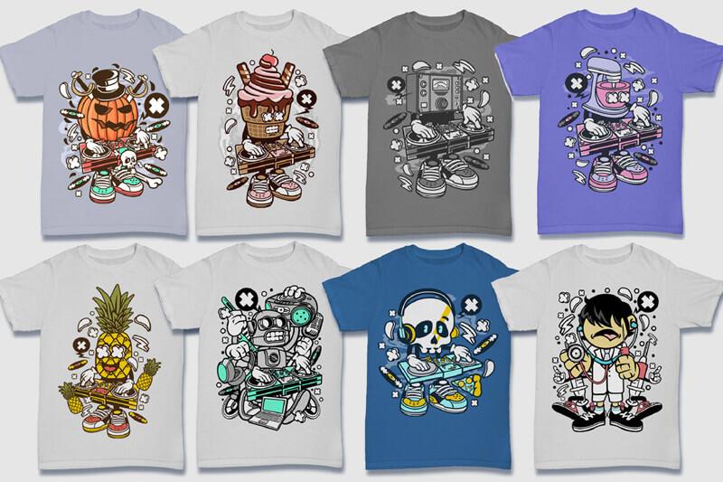 152-Tshirt-Designs-Cartoon-Bundle-Part-4-Preview-12