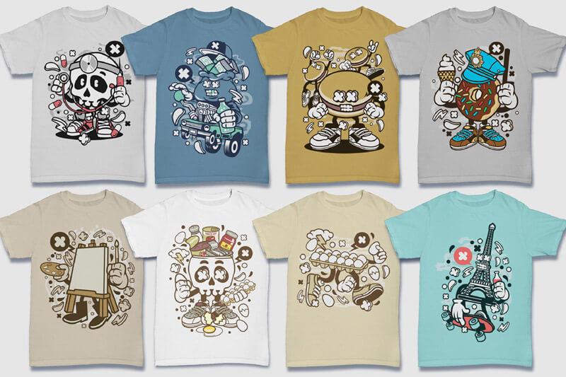 152-Tshirt-Designs-Cartoon-Bundle-Part-4-Preview-13