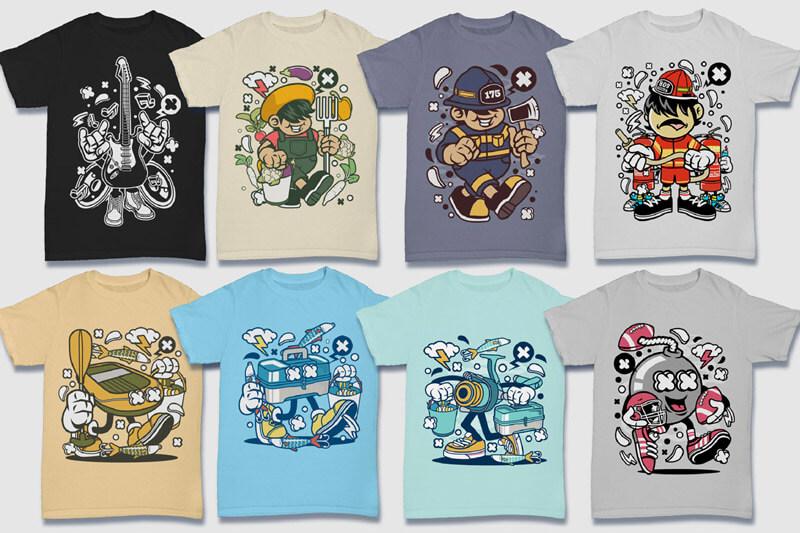 152-Tshirt-Designs-Cartoon-Bundle-Part-4-Preview-14