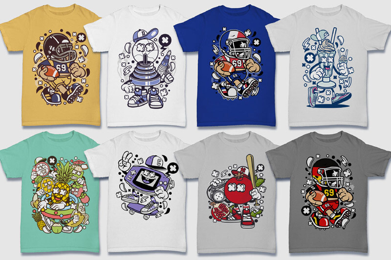 152-Tshirt-Designs-Cartoon-Bundle-Part-4-Preview-15