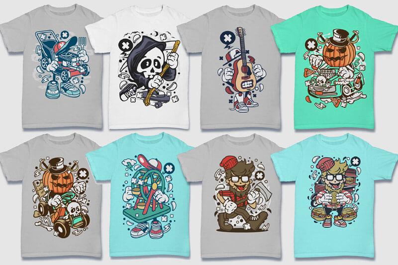 152-Tshirt-Designs-Cartoon-Bundle-Part-4-Preview-17