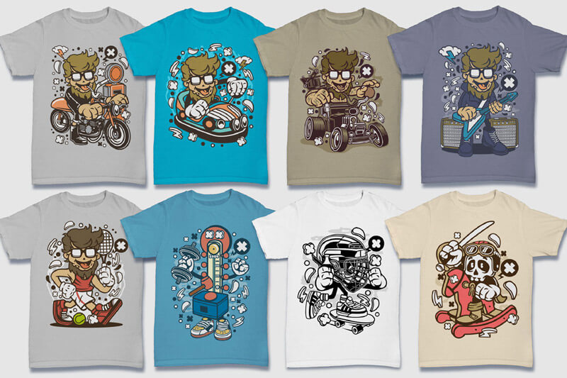 152-Tshirt-Designs-Cartoon-Bundle-Part-4-Preview-18
