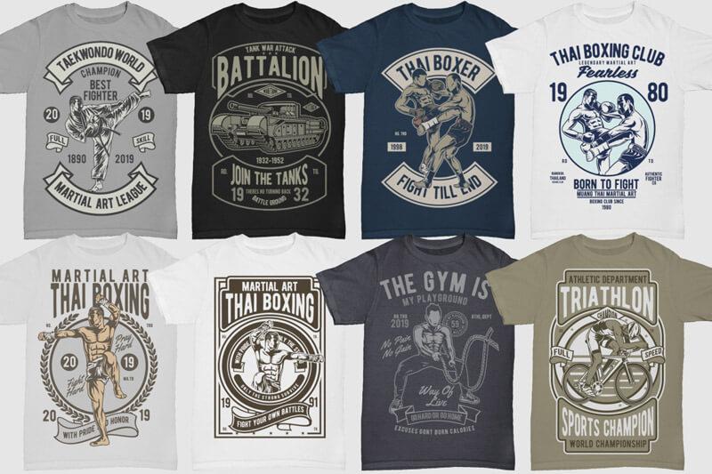 100 Retro T shirt Designs Vol 3 Preview 11