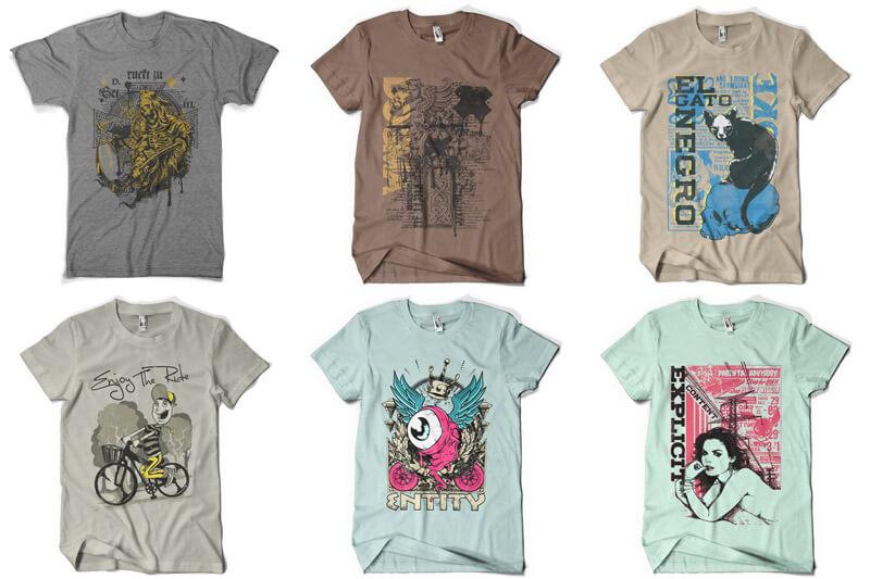 100 T-shirt Designs Vol 8 Preview 04