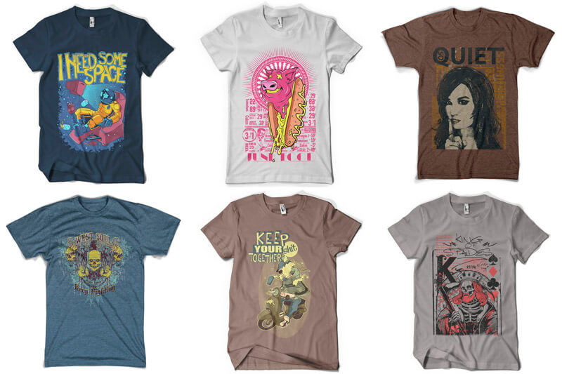 100 T-shirt Designs Vol 8 Preview 06