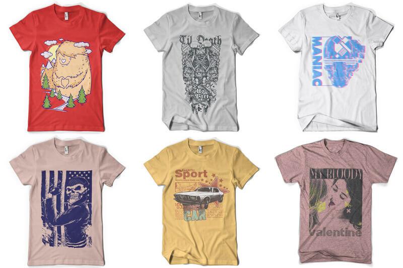 100 T-shirt Designs Vol 8 Preview 08