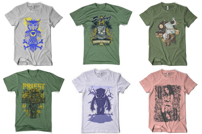 100 T-shirt Designs Vol 8 Preview 10