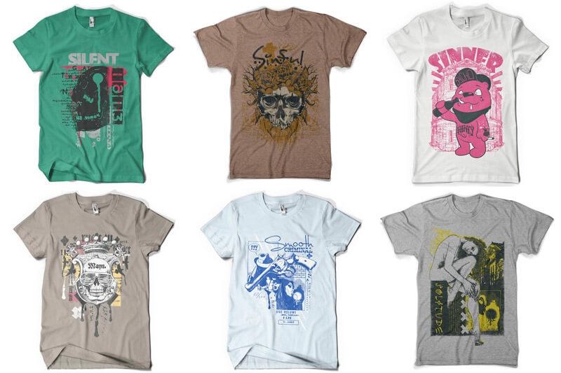 100 T-shirt Designs Vol 8 Preview 13