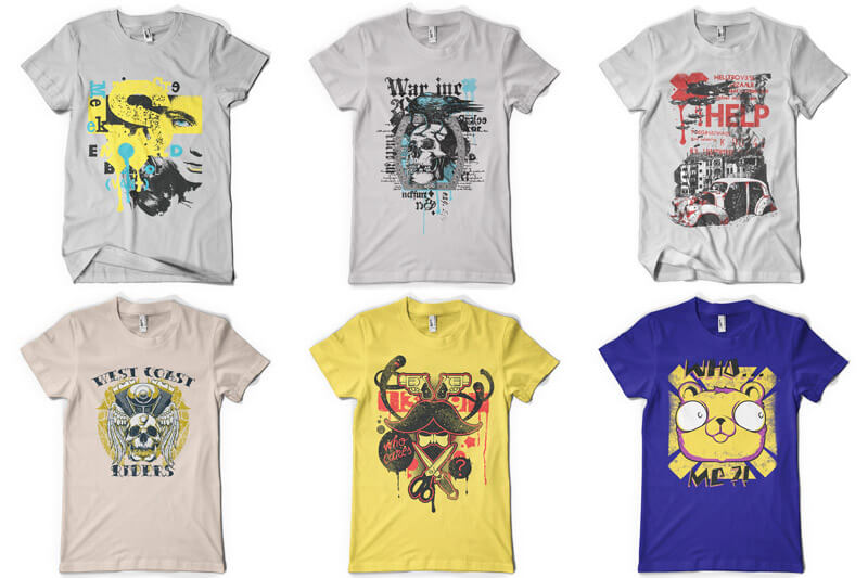 100 T-shirt Designs Vol 8 Preview 16