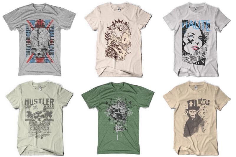 100 T-shirt Designs Vol 9 Bundle Preview 05