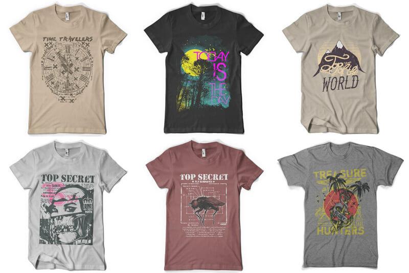 100 T-shirt Designs Vol 9 Bundle Preview 15