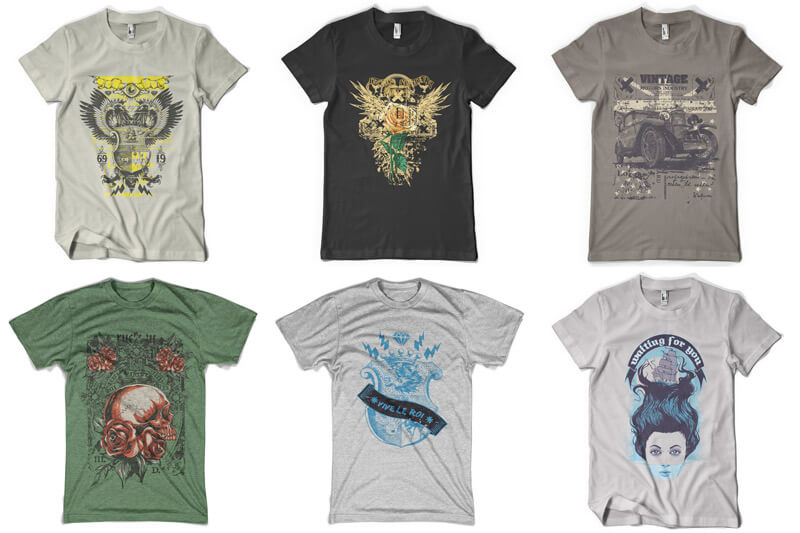 100 T-shirt Designs Vol 9 Bundle Preview 16