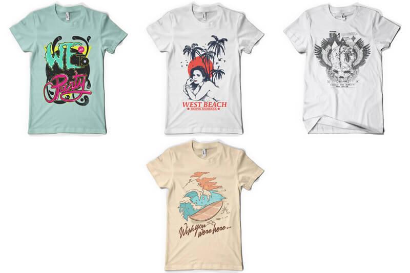 100 T-shirt Designs Vol 9 Bundle Preview 17
