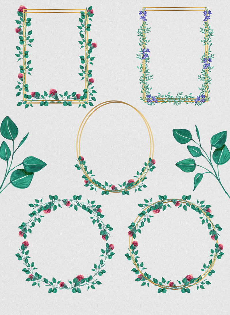 Foliage Bundle 04