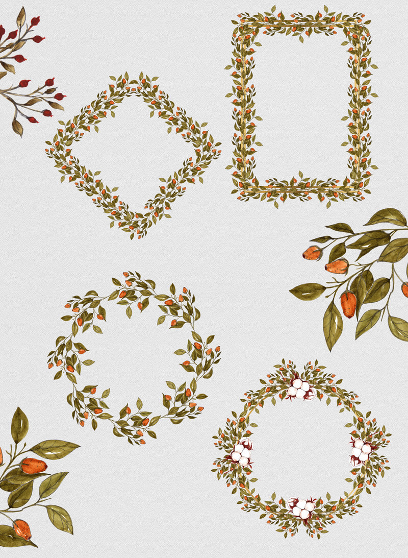 Foliage Bundle 05