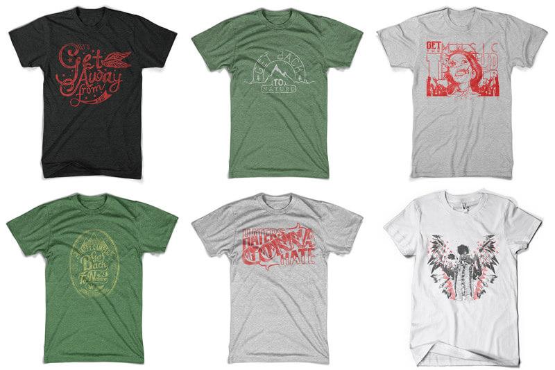 100 T-shirt Designs Vol 10 Bundle Preview 05