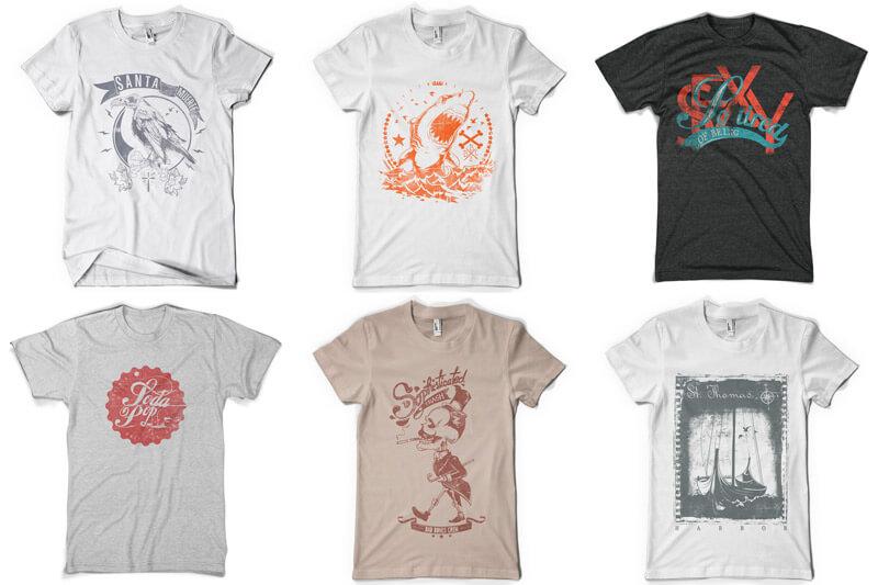 100 T-shirt Designs Vol 10 Bundle Preview 12