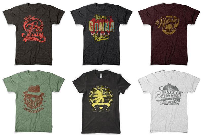 100 T-shirt Designs Vol 10 Bundle Preview 13