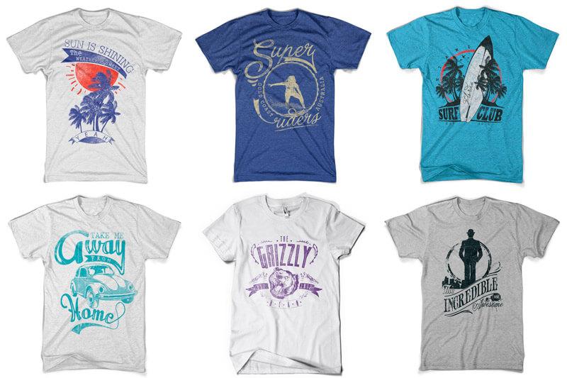 100 T-shirt Designs Vol 10 Bundle Preview 14