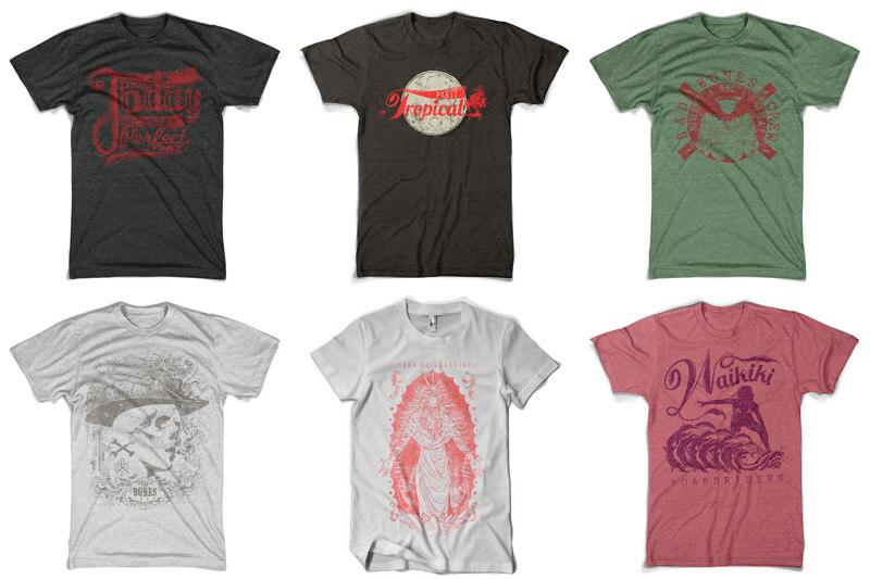 100 T-shirt Designs Vol 10 Bundle Preview 16