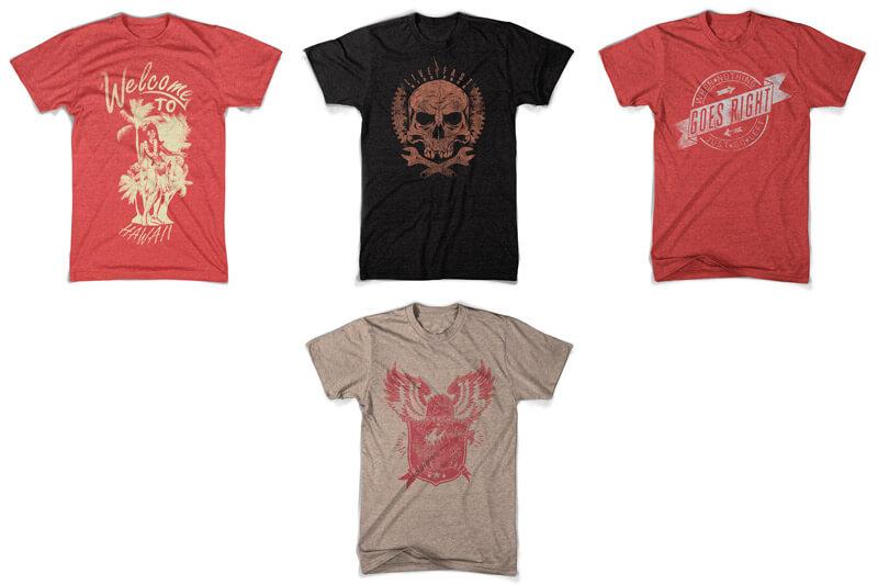 100 T-shirt Designs Vol 10 Bundle Preview 17