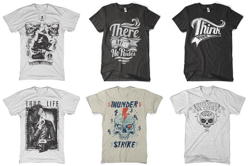 100 T-shirt Designs Vol 12 Bundle Preview 15