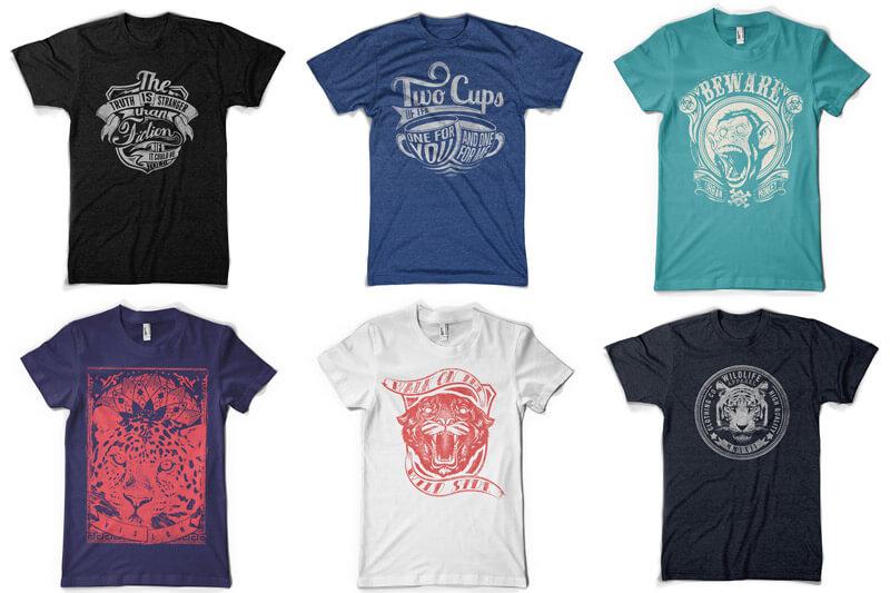 100 T-shirt Designs Vol 12 Bundle Preview 16